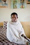 Ethiopian young woman  waiting for fistula repair