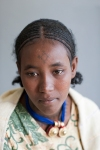 Ethiopian young girl waiting for fistula repair