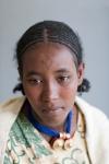 Ethiopian young girl waiting for fistula repair