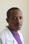 Ethiopian health care worker